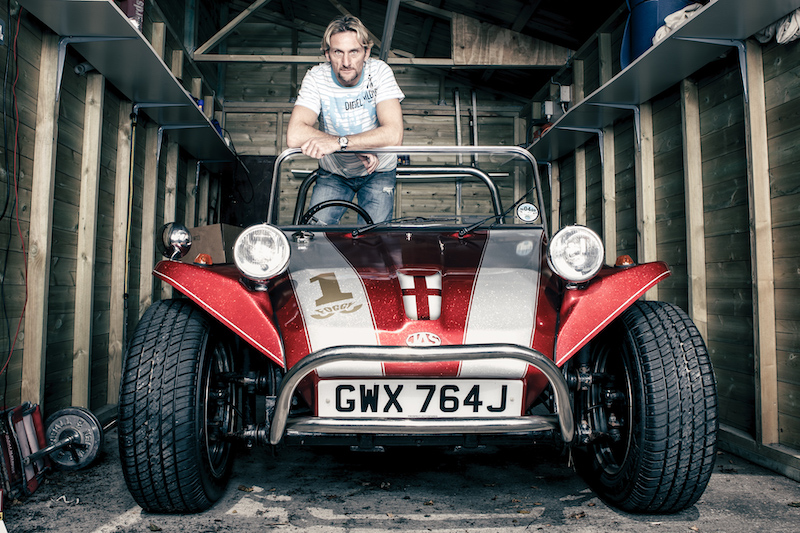 Carl Fogarty dune buggy