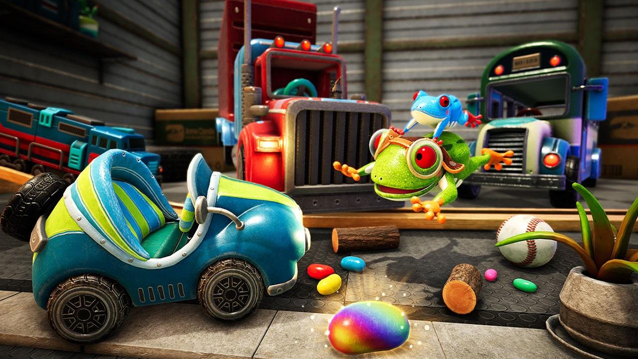"""In Frogger in Toy Town arriva la nuova modalità """"gara di resistenza"""" thumbnail"""