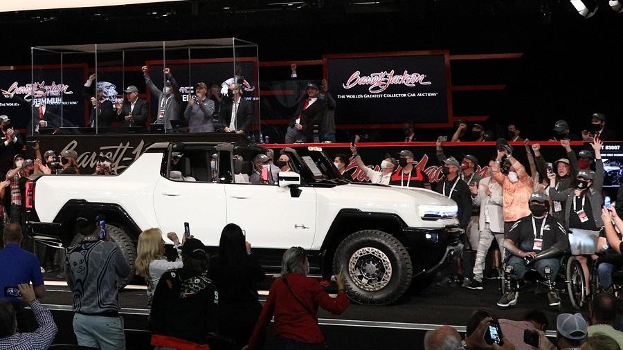 GMC Hummer EV asta