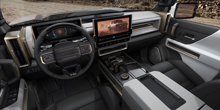 GMC Hummer EV interni