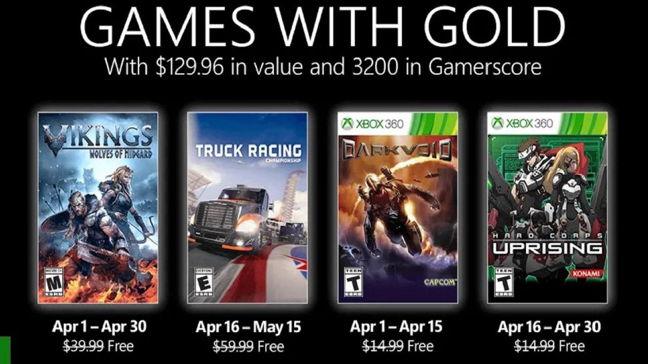 Microsoft ha annunciato i Games With Gold di aprile 2021 thumbnail