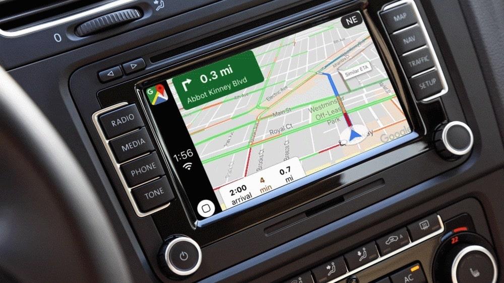 Google-Maps-auto-carplay android auto