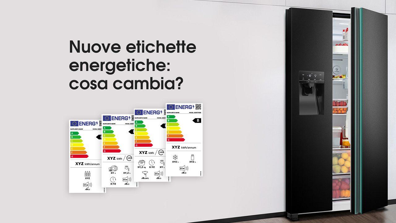 Hisense ha realizzato una guida sul nuovo sistema di etichette energetiche thumbnail