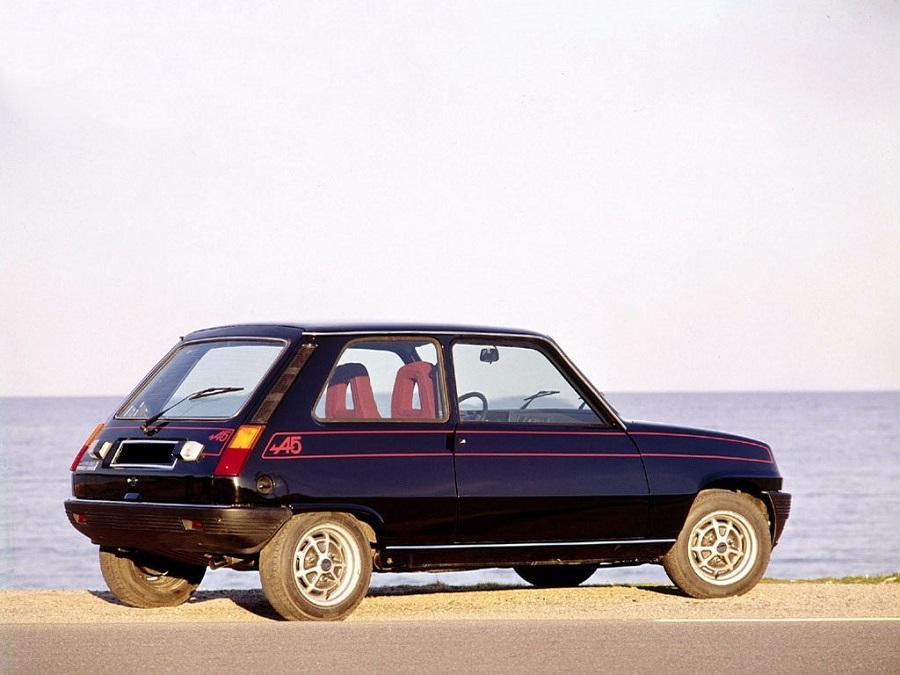 Hot Hatch anni '70 Renault 5 Alpine posteriore