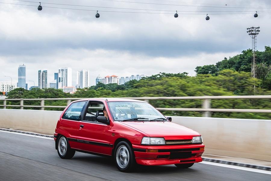 Hot Hatch anni '80 Daihatsu Charade GTti