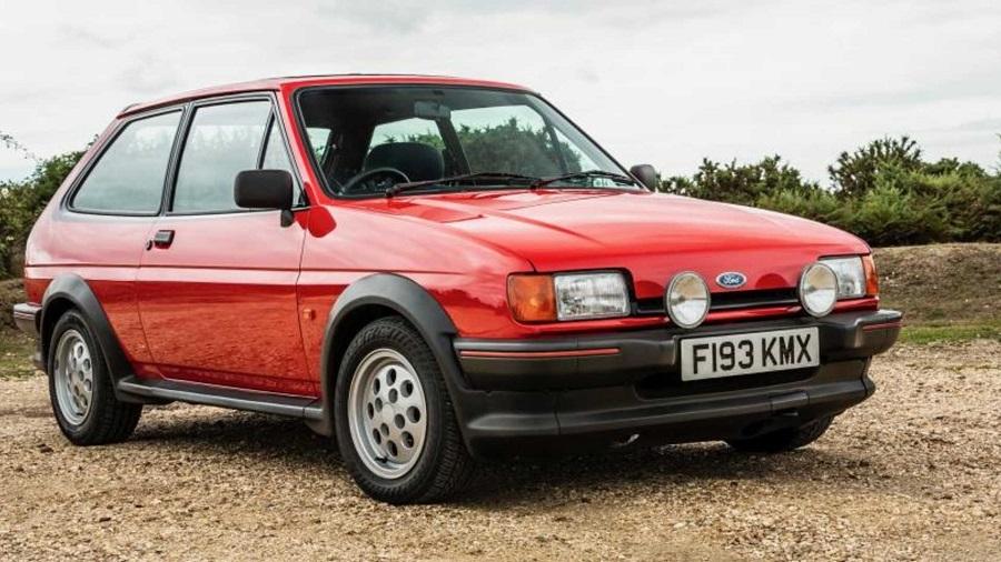Hot Hatch anni '80 Ford Fiesta XR2 mk2