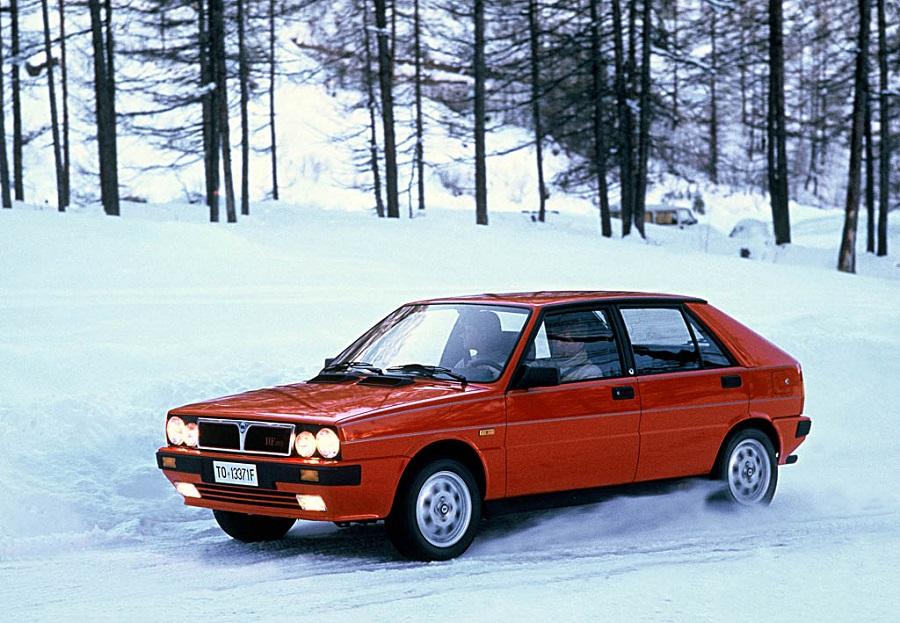 Hot Hatch anni '80 Lancia Delta 4WD