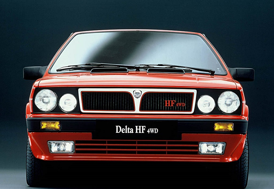 Hot Hatch anni '80 Lancia Delta HF 4Wd