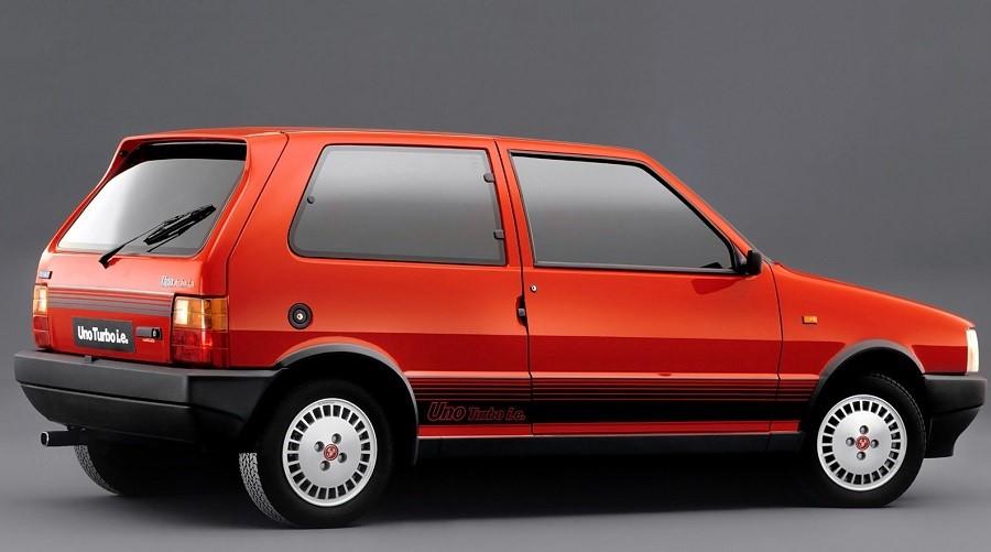 Hot Hatch anni '80 Uno turbo ie