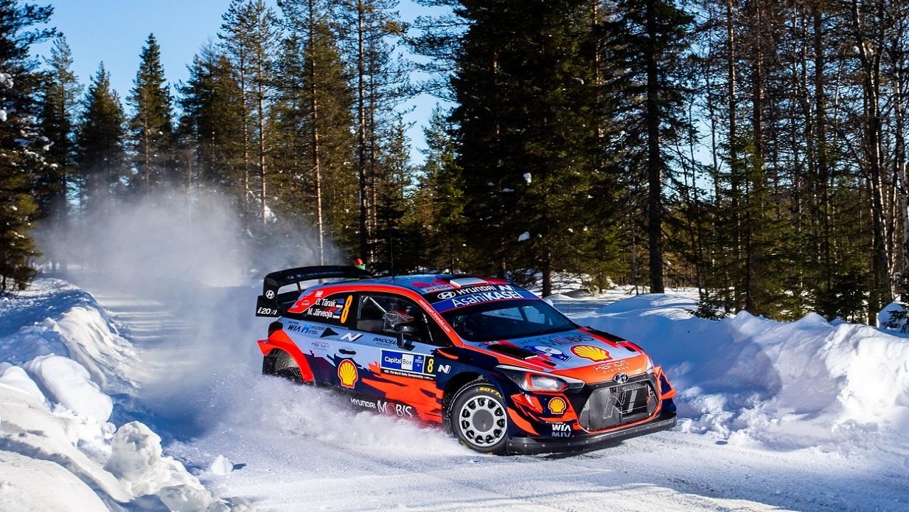 Hyundai Motorsport conquista l'Arctic Rally Finland e la prima vittoria nel WRC 2021 thumbnail