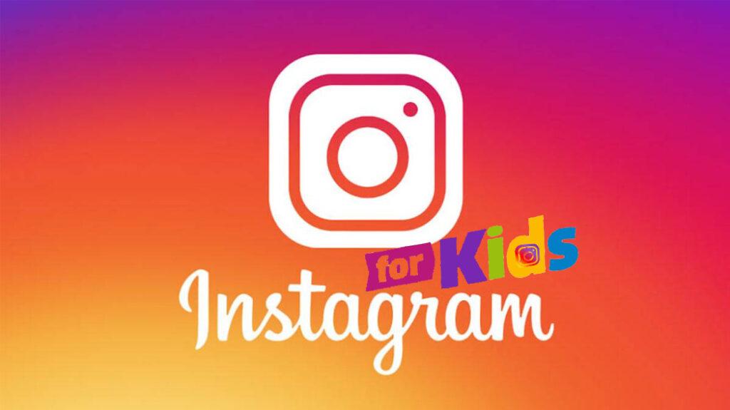 Instagram per bambini logo