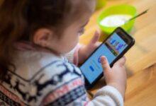 Instagram per bambini smartphone