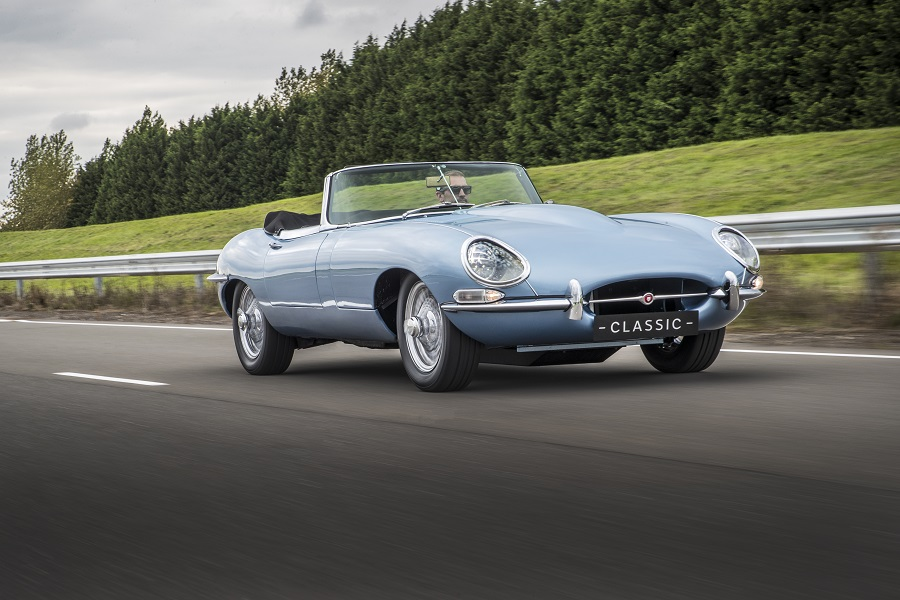 Jaguar E-Type harry e meghan