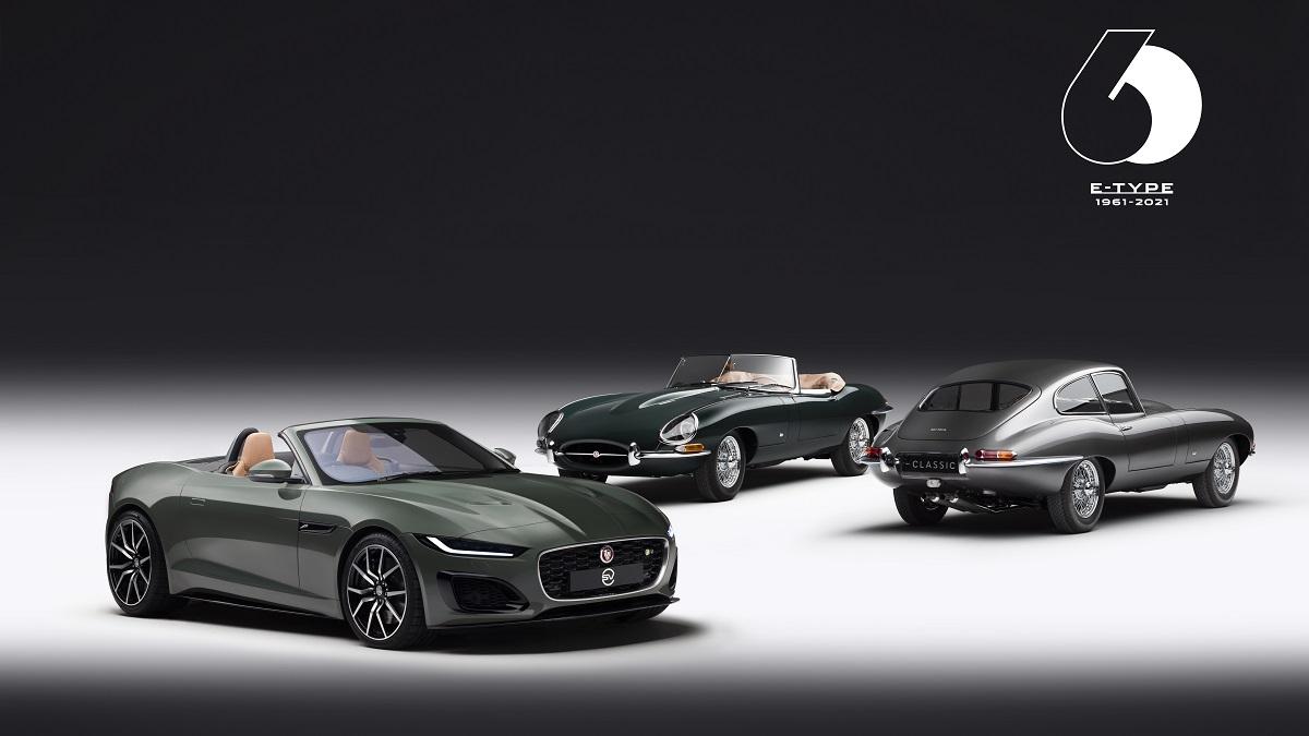 Jaguar Classic svela la E-type 60 Collection thumbnail
