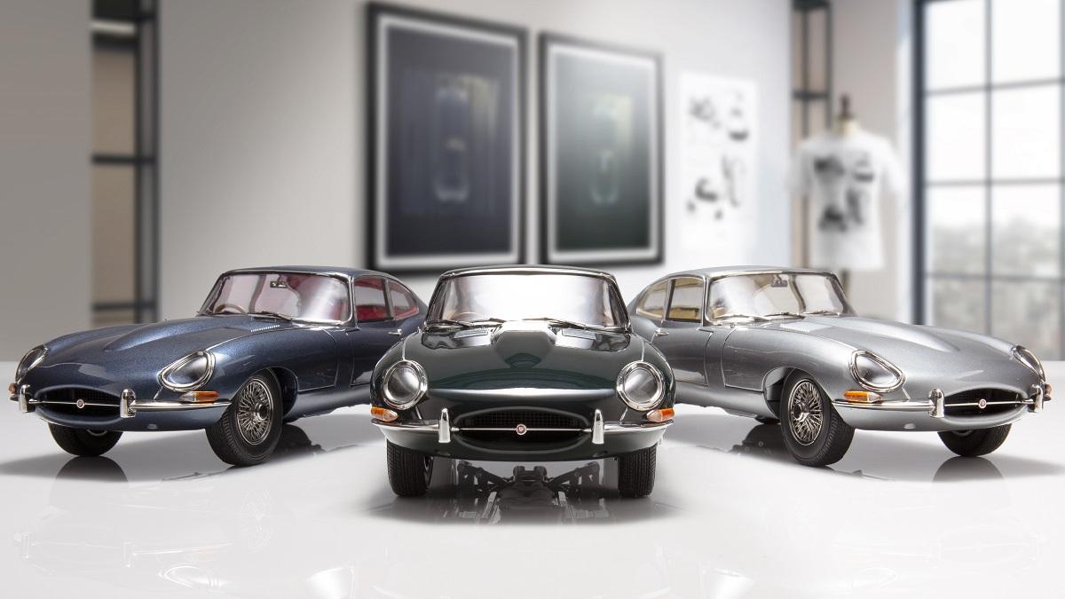 Jaguar E-type: disponibili gli articoli della 60th Anniversary Collection thumbnail