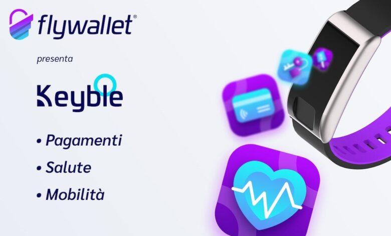 Keyble wearable Flywallet