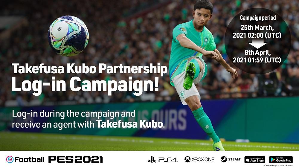 partnership Takefusa Kubo con Konami per PES