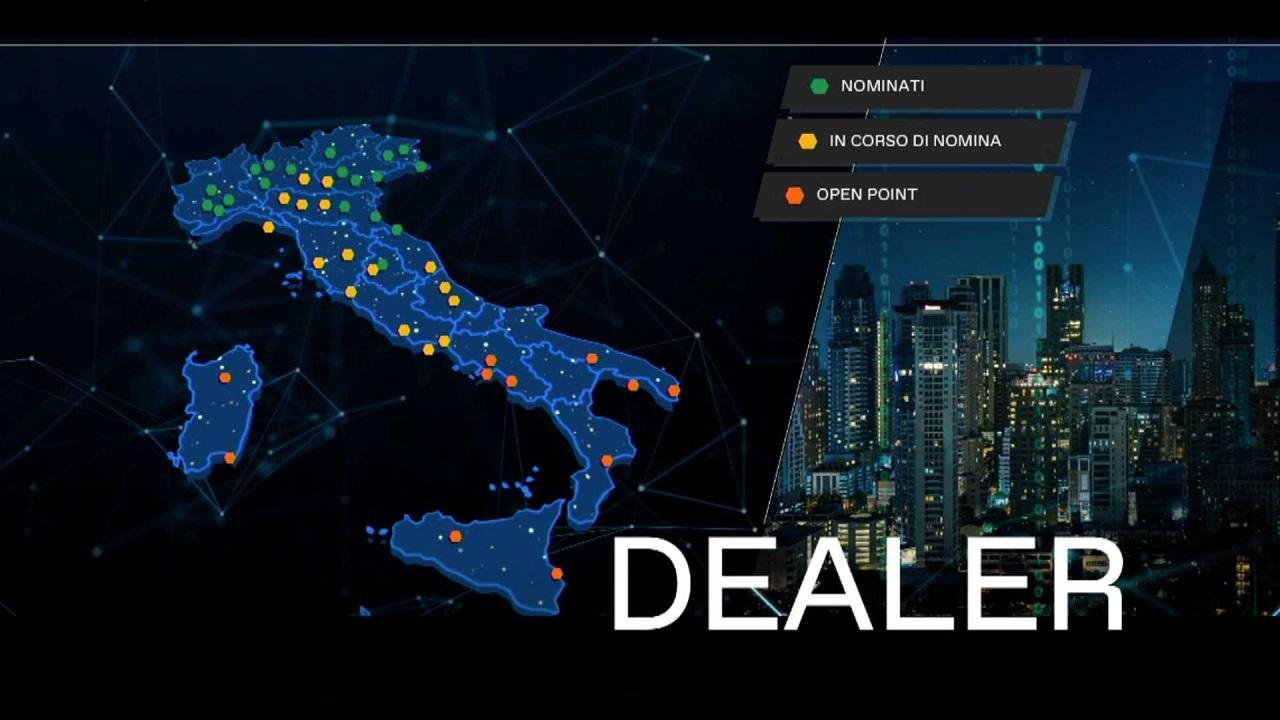 Dealers MG Italia