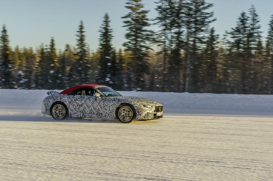 Mercedes SL neve