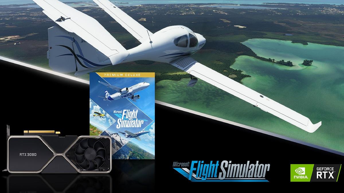 Microsoft Flight Simulator: prestazioni al top con le GeForce RTX Serie 30 thumbnail