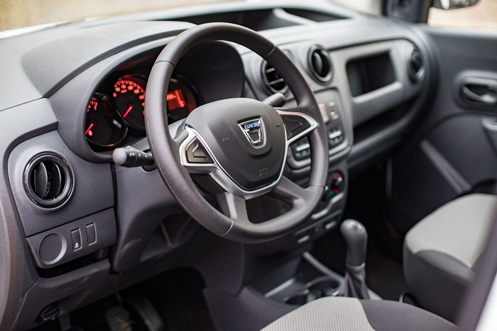 Migliori pick-up Dacia Dokker interni