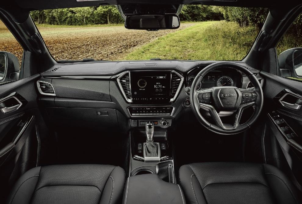 Migliori pick-up isuzu d-max interni