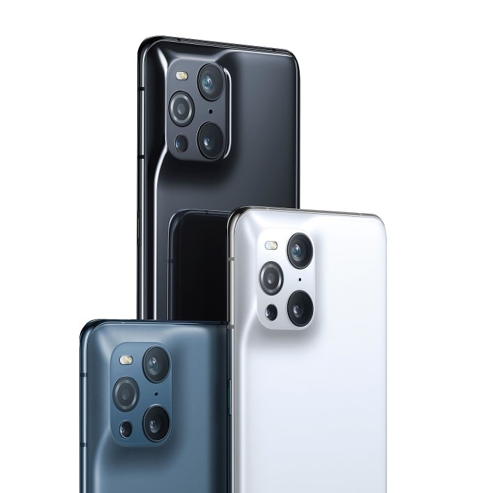 OPPO Find X3 Pro fotocamere