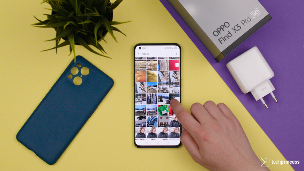 Oppo Find X3 Pro recensione display