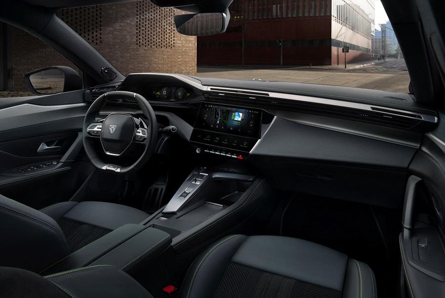 Peugeot 308 2021 interni