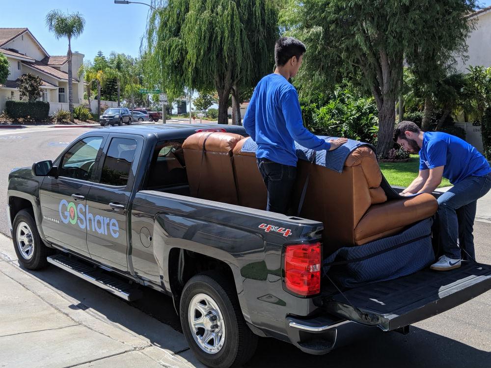 Pick-up divano
