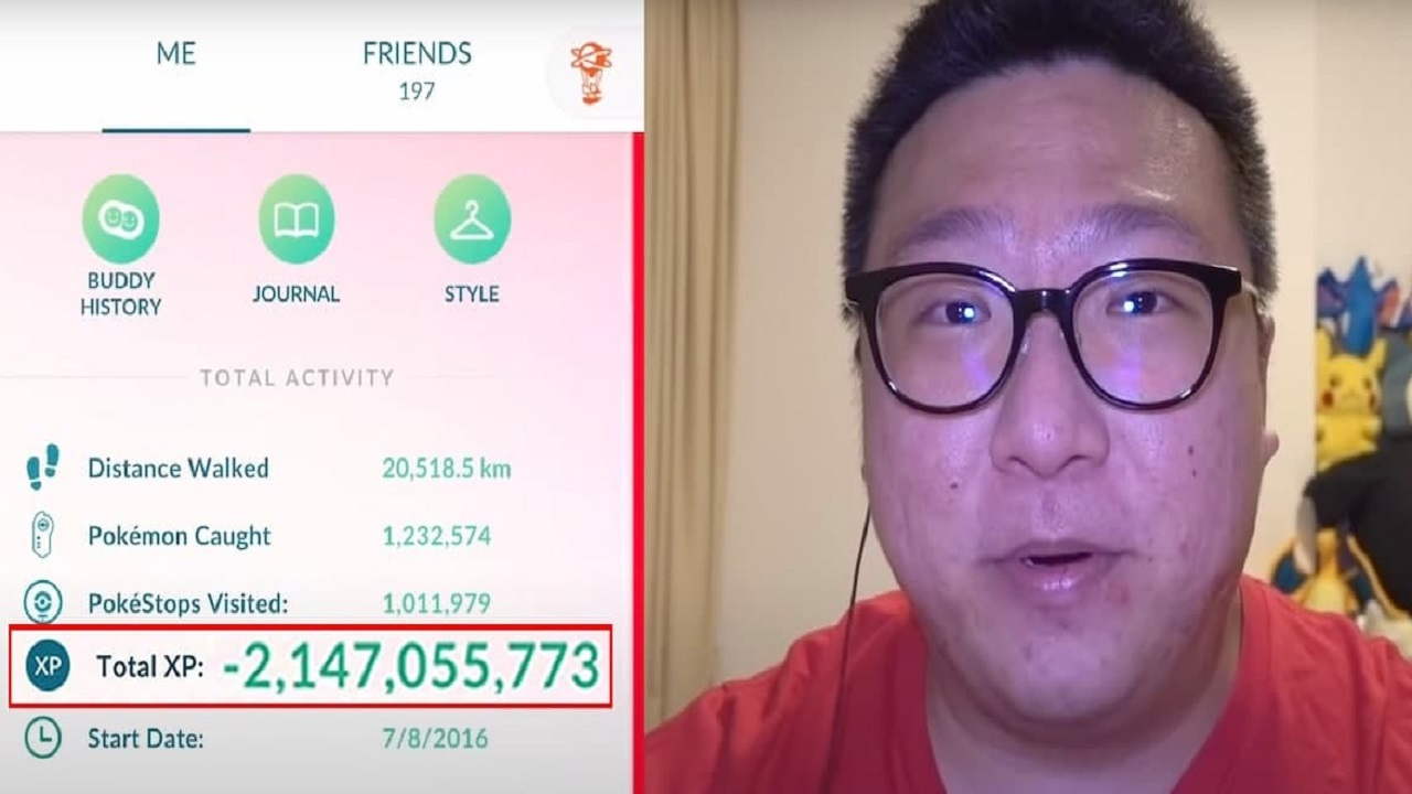 Il giocatore numero uno di Pokémon GO rompe il contatore dei Punti Esperienza thumbnail
