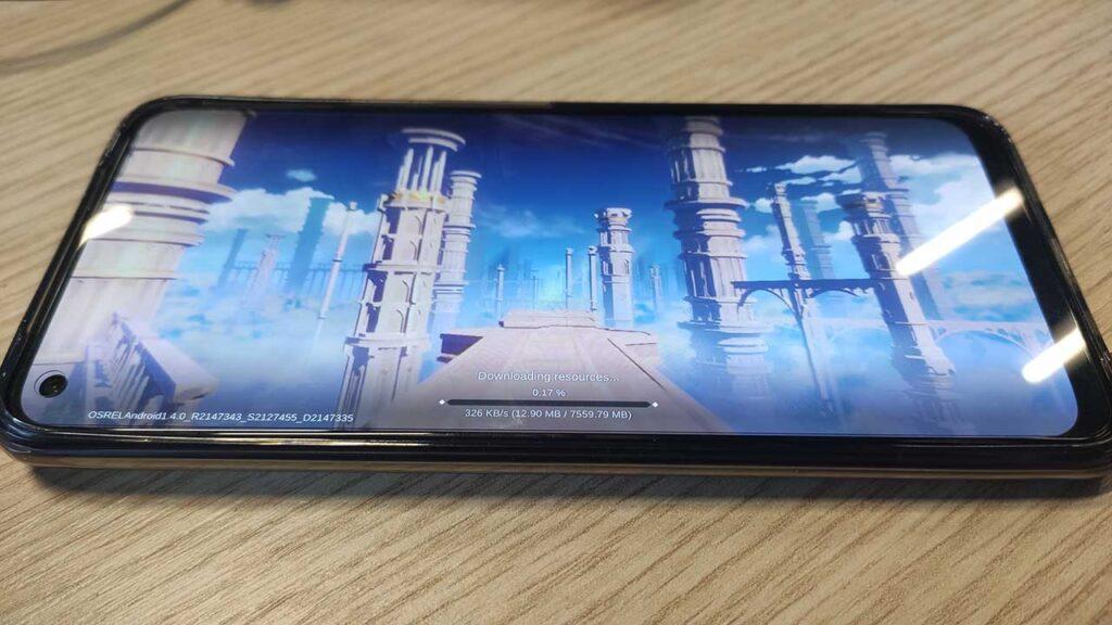 Realme 8 Pro Genshin Impact