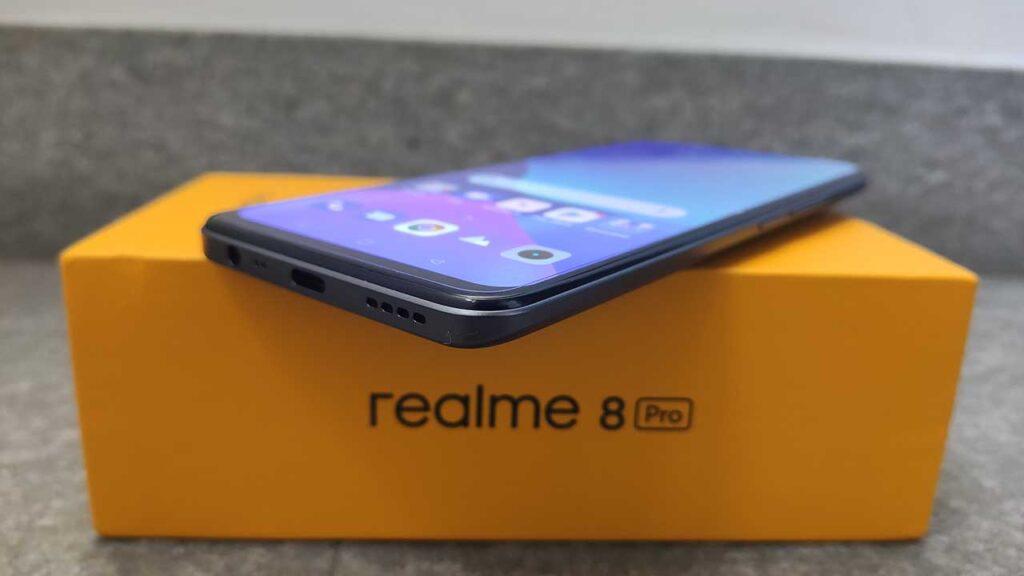Realme 8 Pro recensione scatola