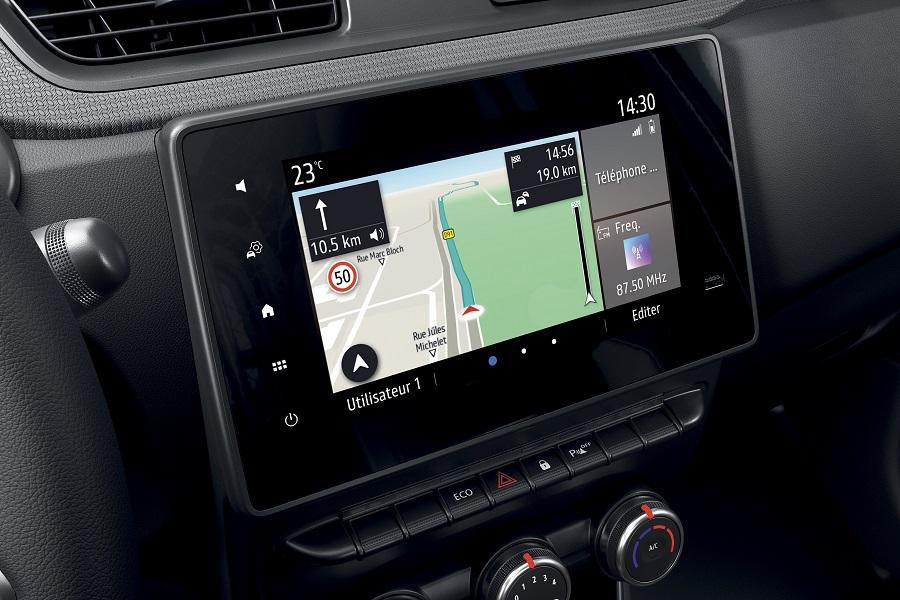 Renault Express infotainment