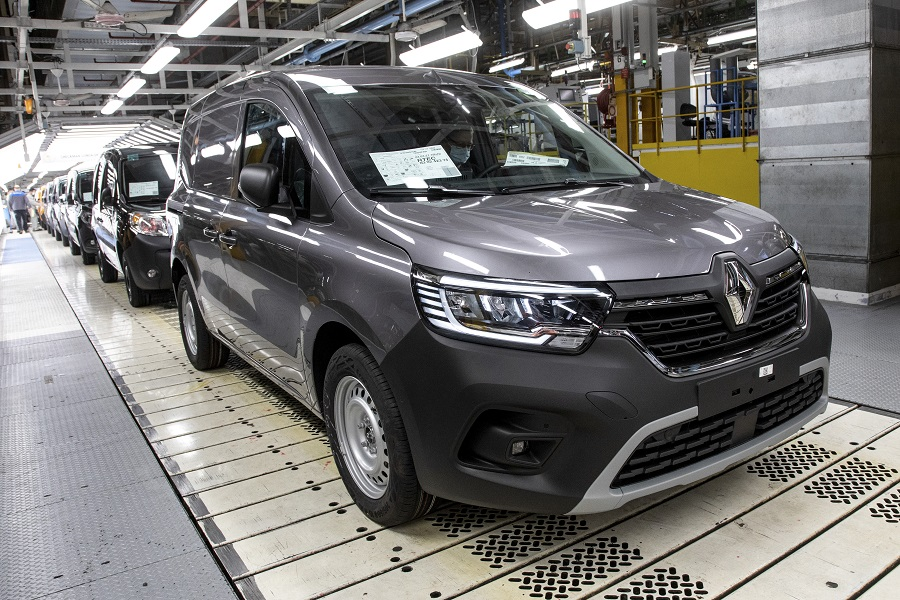 Renault Kangoo Van produzione