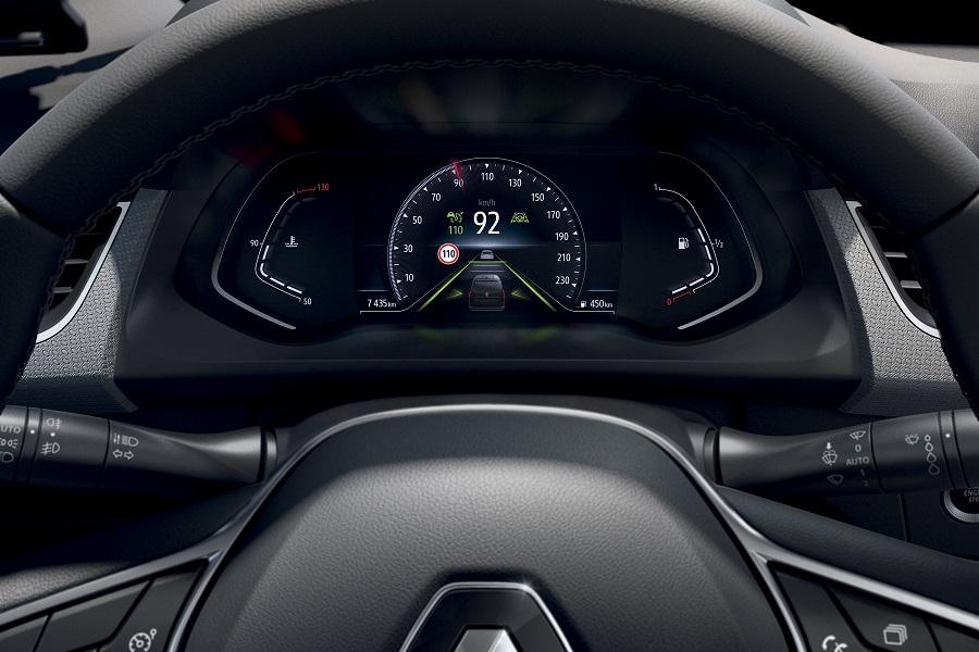 Renault Kangoo schermo digitale