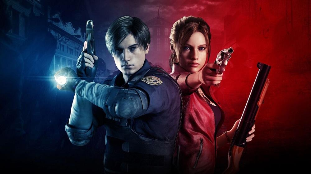 Claire e Leon in Resident Evil 2