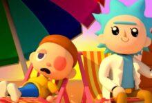 Rick-Morty-Animal-Crossing-Adult-Swim-Tech-Princess