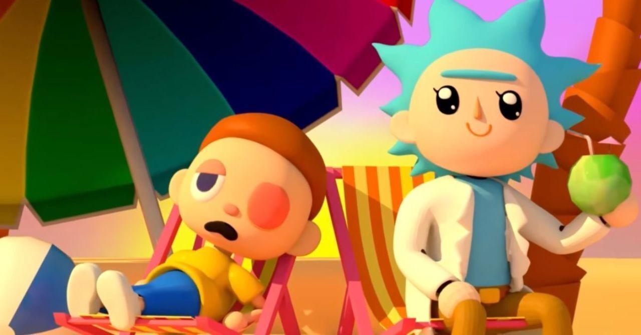 Adult Swim festeggia un anno di Animal Crossing con un crossover di Rick e Morty thumbnail