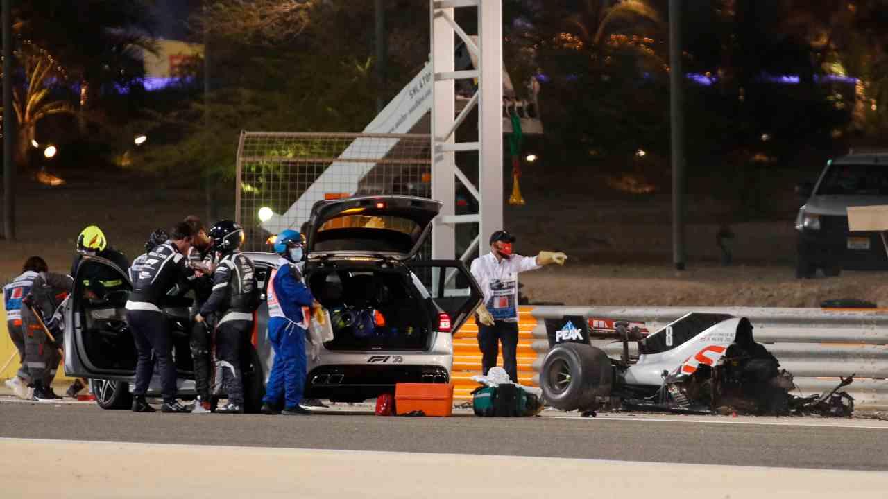 Safety Car F1 2021 Grosjean