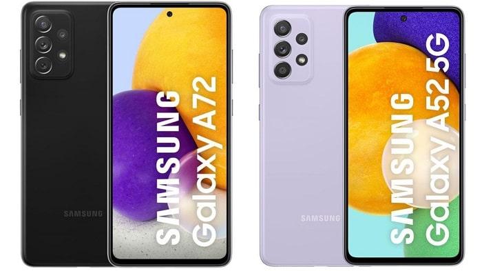 Samsung-Galaxy-A52-A72-5G- galaxy a