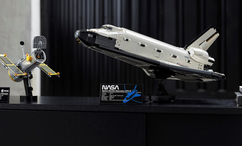 Space Shuttle Lego