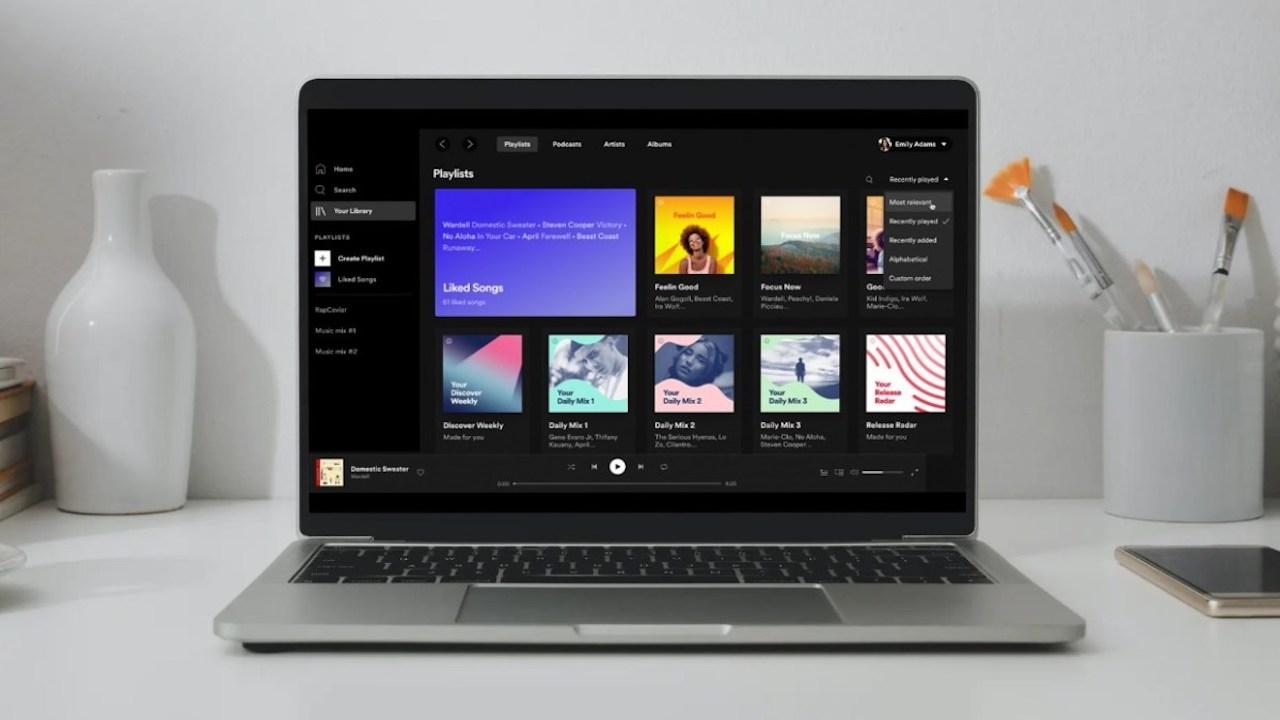Spotify per PC ora permette di scaricare gli album thumbnail
