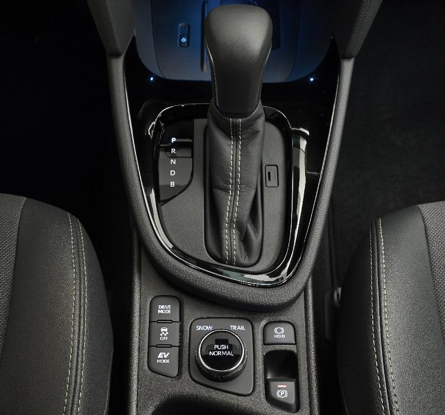 Sistema trazione integrale Toyota i-AWD