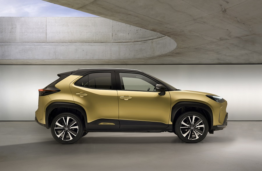 Toyota Yaris Cross 2021 laterale