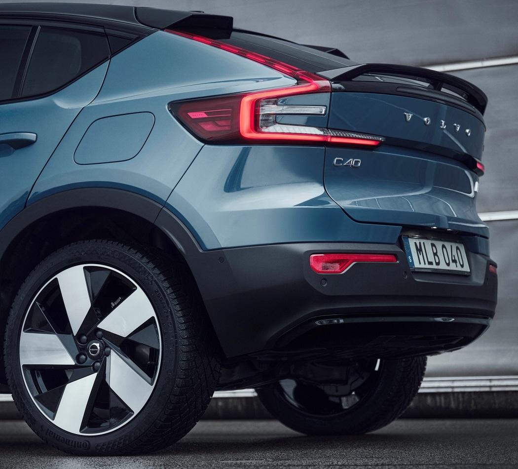 Volvo C40 2021 dettaglio posteriore