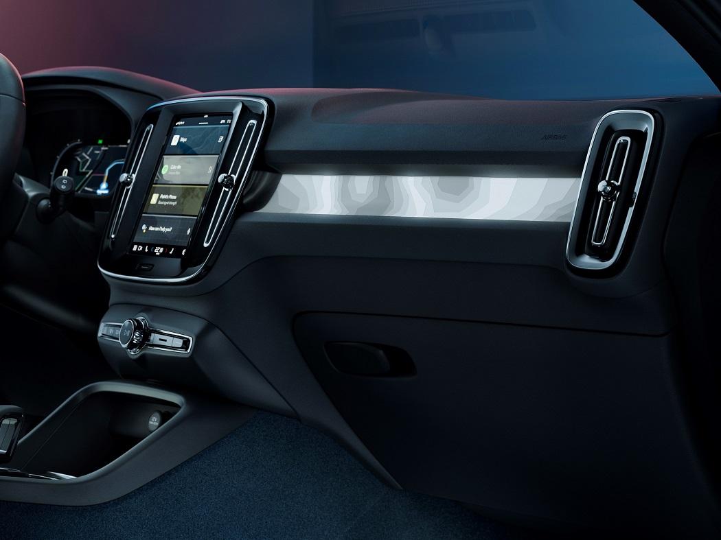 Volvo C40 interni