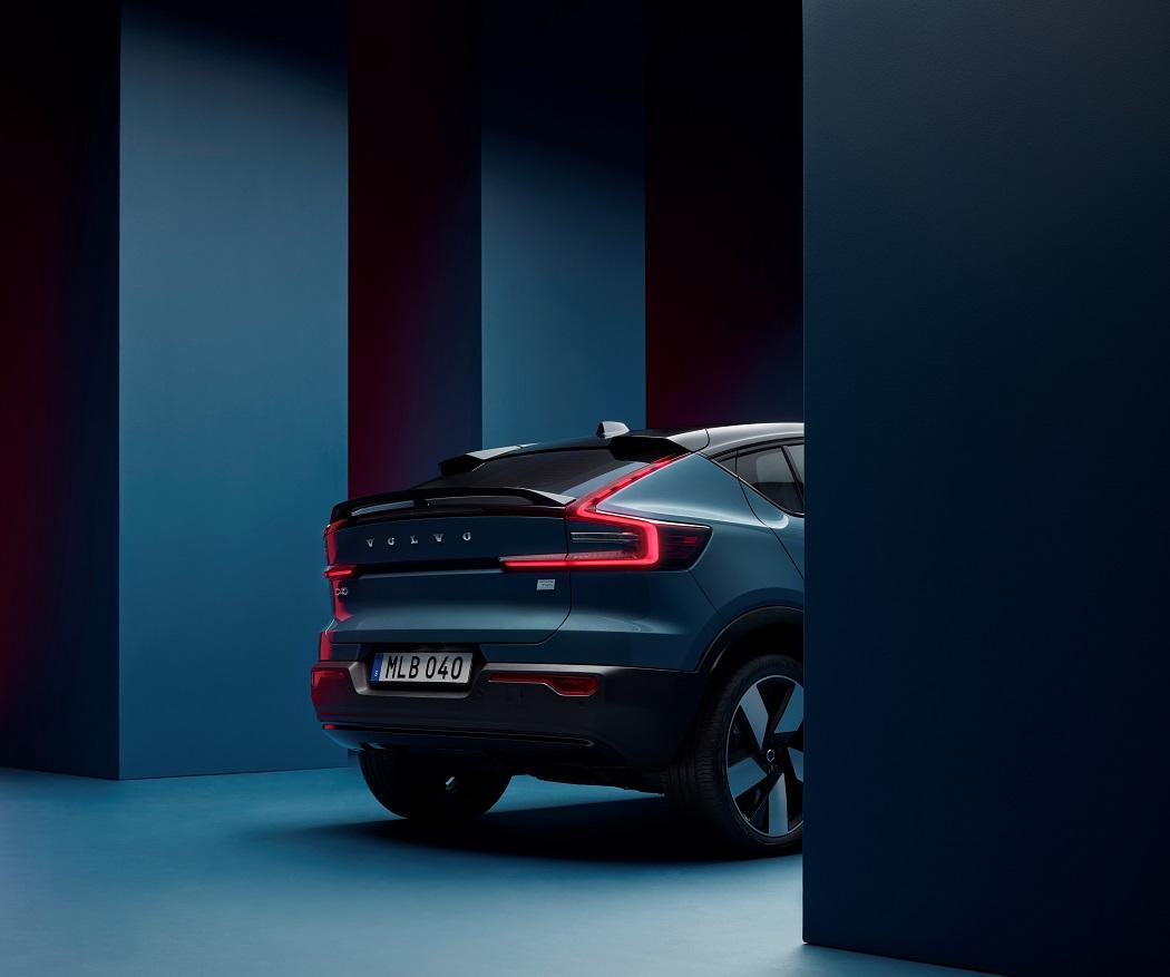 Volvo C40 2021 spoiler
