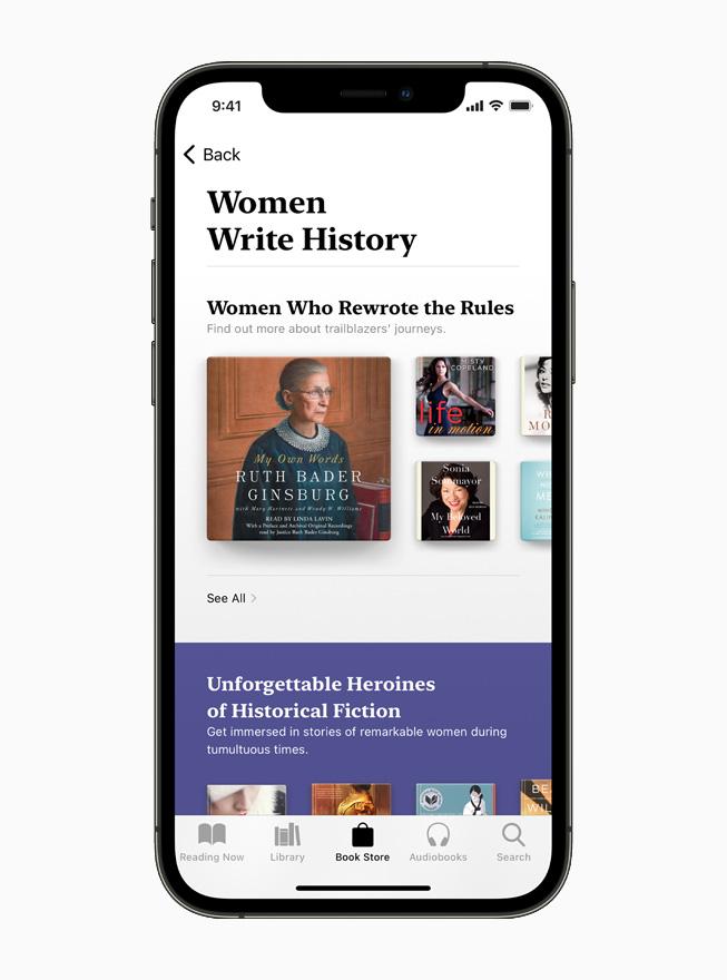 apple book festa della donna 2021