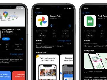 applicazioni google iOS aggiornamento privacy